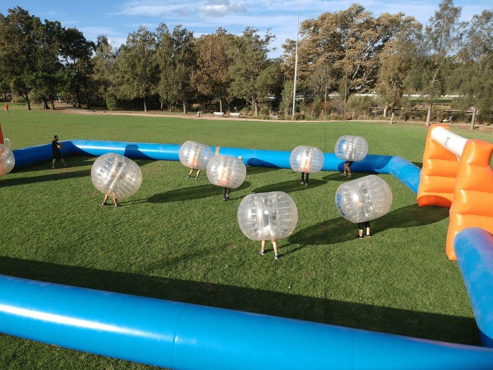 federal park bubble soccer